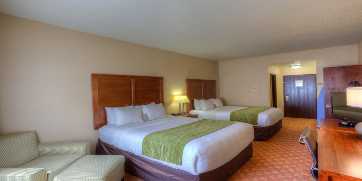 Two Queen Beds - Newport Oregon Hotels