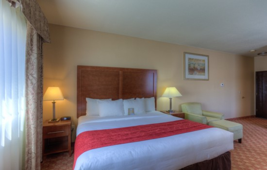 Comfort Inn Newport Oregon - Hotels in Newport Oregon - King Room Upgraded