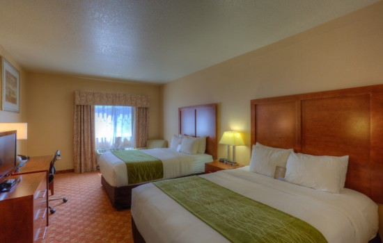 Comfort Inn Newport Oregon - Double Queen Room - Hotels in Newport Oreg