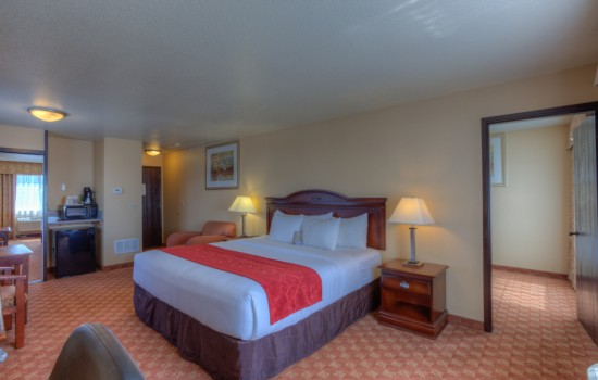 Comfort Inn Newport Oregon - King Room - Hotels in Newport